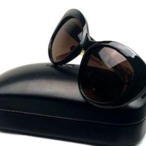 COACH New York Black Sunglasses & Case